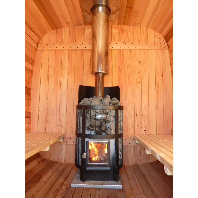 sauna bois ext rieur authentique esprit nordique. Black Bedroom Furniture Sets. Home Design Ideas