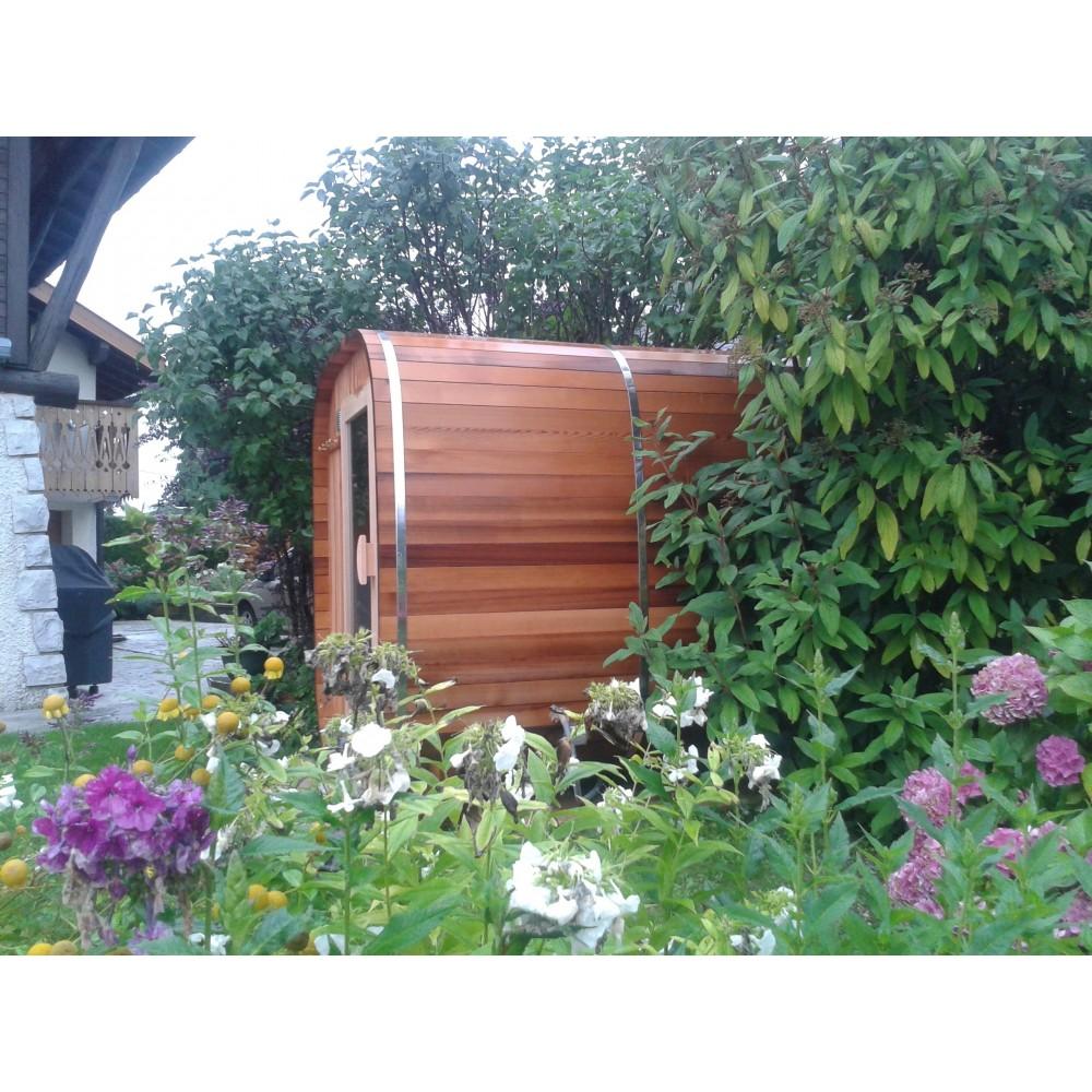 Sauna Bois Extérieur Authentique Esprit Nordique - Obiozz