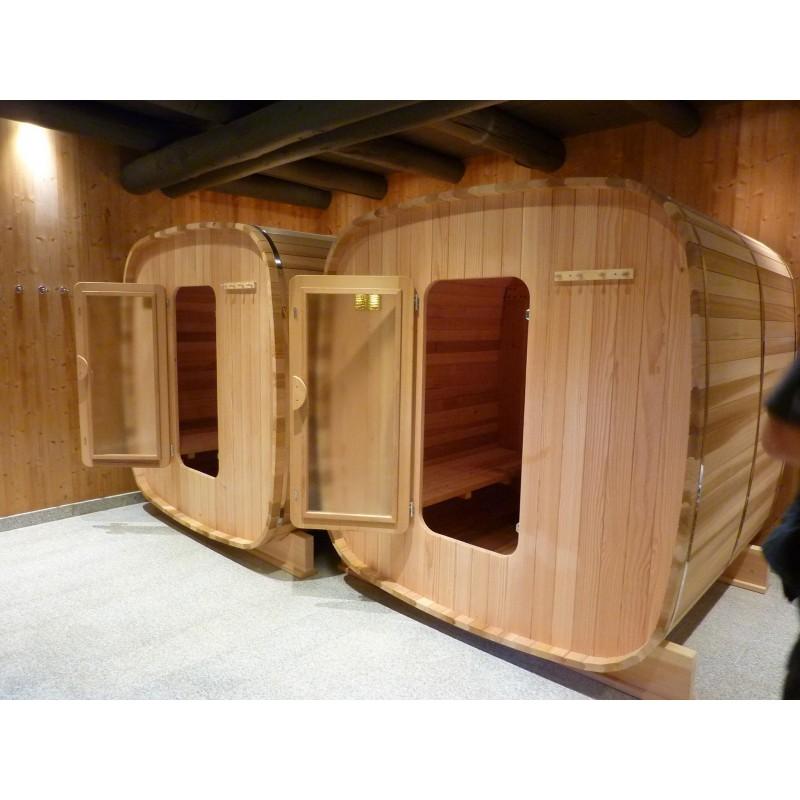 Sauna extérieur  4 / 6 personnes version chauffage électrique