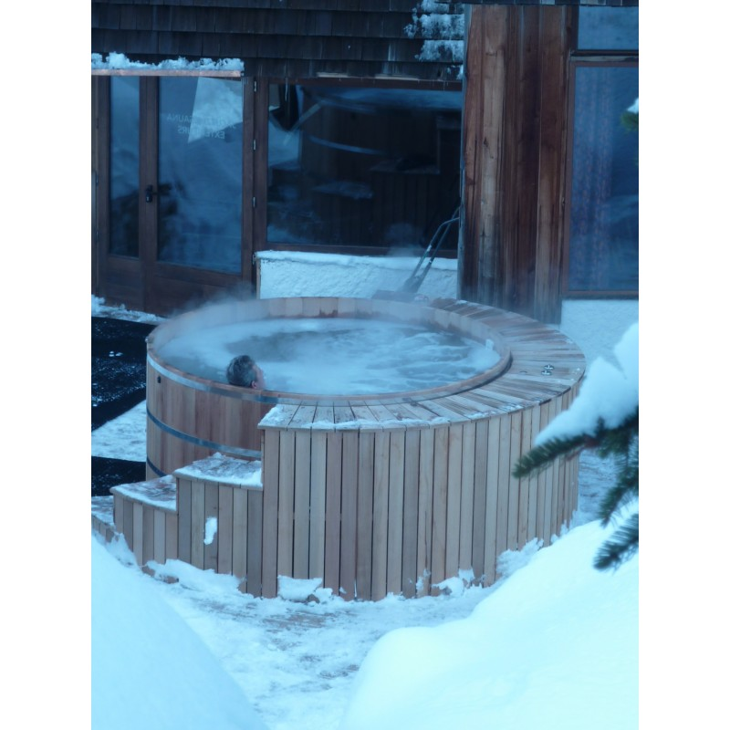 Spa bois red cedar 240