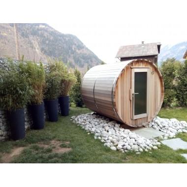 Sauna rond chauffage électrique