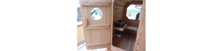 Saunas bois chauffage électrique